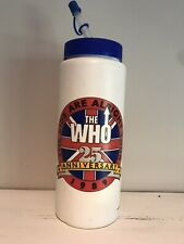 The Who 25 Anniversary 1989 Commemorative Water Bottle