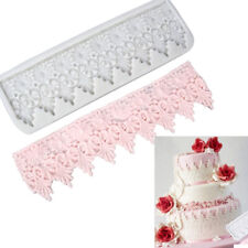 Vintage Border Silicone Fondant Cake Decorating Mould Baking Lace Embosser Mold