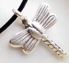 Klein 980er Silber Anhänger Libelle Filigran Insekt Grille Fliege Handarbeit