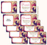"""15 Blank or Custom 2 x 2.7"""" labels Rustic Shabby Apple Jelly Jam Berry Canning"""