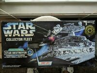 1996 Star Wars Kenner Collector Fleet Electronic Star Destroyer Sealed