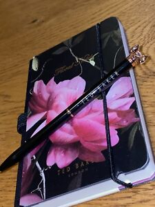 BEAUTIFUL TED BAKER MINI NOTEBOOK AND PEN/BN