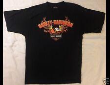 HARLEY DAVIDSON Motorcycle Black T-Shirt
