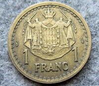 MONACO LOUIS II NO DATE 1945 1 FRANC
