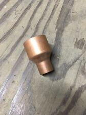 """1-1/2"""" x 3/4"""" Wrot Copper Sweat Reducing Coupling"""