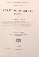 Décoration Intérieures Peintes, L'Architecture Privée au XIXe siècle, Daly, 1877