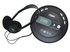 Naxa NPC-330 Personal Compact Slim CD Player +Anti-Shock +FM Radio +Headphones