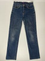 Not Your Daughters Jeans NYDJ Ladies Fade Straight Leg Blue Jean Lift Tuck Sz 2