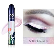 7 Colors Waterproof Shimmer Eyeshadow Glitter Liquid Eyeliner Metallic Cosmetic 1#