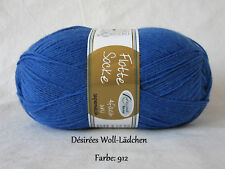 flotte Socke Uni RELLANA 4fach 100g Sockenwolle Jeans 912