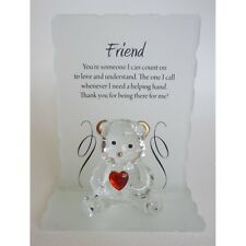 Poetic Bear, Friend, Ideal Gift, Come with presentation box