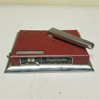 Vintage Premier Supermatic Tobacco Cigarette Rolling Machine