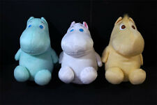 Set of 3 Moomin Fuzzy Soft Toy Plush Doll Moomins Valley