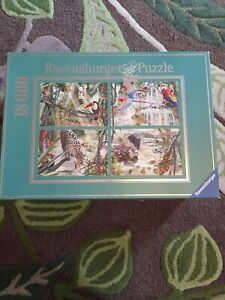 Ravensburger Jigsaw Puzzle, 18000 Pieces, Tropical Impressions,Complete