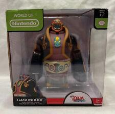 "World of Nintendo 6"" Inch Deluxe Ganondorf Action Figure Jakks - Sealed New"