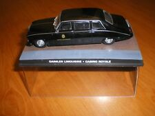 VOITURE COLLECTION JAMES BOND DAIMLER LIMOUSINE CASINO ROYALE