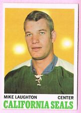 1970-71 70-71 O-PEE-CHEE OPC #74 Mike Laughton SET BREAK