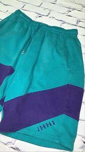 "Nike Air Jordan V Retro 5 ""Grape"" Shorts Emerald Purple Sz XL Rare"