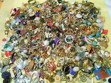 Vintage Now Jewelry Junk Craft Box FULL 5 POUNDS Brooch Necklace MORE Huge Lot