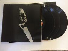Frank Sinatra Trilogy Record 3 lps jazz w/ insert original vinyl album