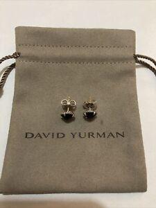David Yurman Chatelaine Earrings with Black Onyx