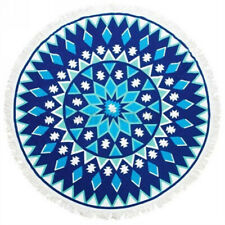Large Bohemian Style Beach Tapestry Mandala Round Blanket Throw Towel Picnic Mat
