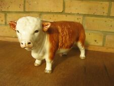More details for vintage bull ornament - made in england - maybe melba ware