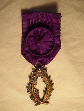 Médaille Officier ordre des palmes académiques