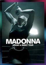 MADONNA 2009 STICKY & SWEET U.S. TOUR CONCERT PROGRAM BOOK / NMT 2 MINT