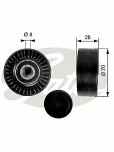 Gates DriveAlign Idler Pulley FOR AUDI A6 4F2 (36248)