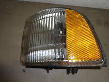 Driver Turn Signal Lens 99 00 01 Dodge Ram Dark Blue Ex Cab 1500 SLT Pick Up OEM