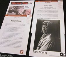 NEIL YOUNG 'SILVER & GOLD' 2000 PRESS KIT--PHOTO