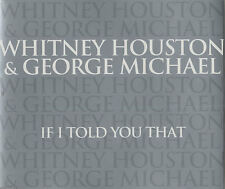 GEORGE MICHAEL & WHITNEY HOUSTON If I Told You That rare 2000 UK 3-track CD