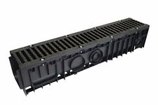 Sabdrain Drainage 200x200x1M Lightweight Water Channel 704 Cast Iron lock Grate