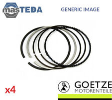 4x NEW ENGINE PISTON RING SET GOETZE ENGINE 08-440200-00 I STD OE REPLACEMENT