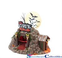 Department 56 Halloween Village The Cave Club 4025339 Retired