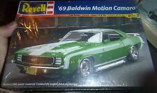 REVELL 1969 CHEVY CAMARO BALDWIN MOTION COUPE 1/25 Model Car Mountain FS