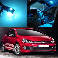 15×ICE Blue Interior LED Light Kit for VOLKSWAGEN MK5 MK6 GOLF GTI
