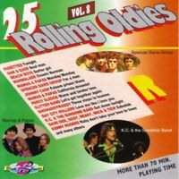 25 Rolling Oldies 8 K.C.  & the Sunshine Band, Rubettes, Archies, Tremelo.. [CD]