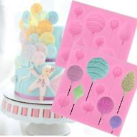 Balloons Cake Decoration Silicone Mold Chocolate Pastry Cookie Mould Baking DB