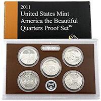 (1) 2011 United States Proof Quarter Set in Original Box