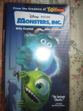 Disney Pixar Monsters, INC VHS