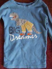 Carter's Dinosaur applique Sky blue Big Dreamer shirt