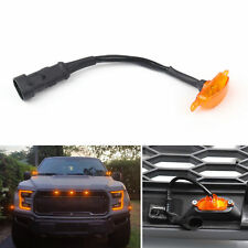 (1PC) LED Light For FIT Ford F-150 F150 Raptor Style Grille Grill 2015-2017 HST