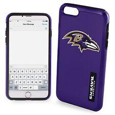 "Baltimore Ravens iPhone 6 PLUS 6s PLUS 5.5"" Screen Large Model Dual Hybrid Case"