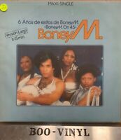 "BONEY M '6 Snow De Exit is De Boney M Spanish 12"" VG Con"