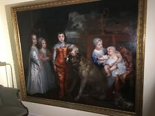 THE FIVE ELDEST CHILDREN OF CHARLES I  BY VAN DYCK  PHOTO PRINT