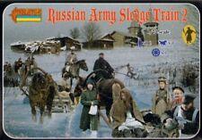 Strelets 1/72 Russian Army Sledge Train 2 # 136
