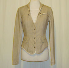 BEAUTIFUL SASS&BIDE MILITARY INSPIRED FITTED JACKET EURO 40 US 4 AUS 8/10