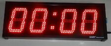 "4 Digit - 99 minutes stopwatch timer 4"" high LED digits"